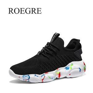 Image 1 - Мужская повседневная обувь красного цвета размера плюс 35 47, легкие дышащие кроссовки, Tenis Masculino, новинка 2019