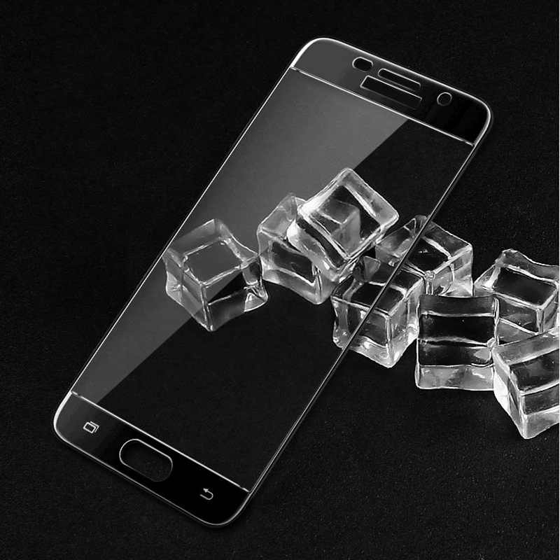 شاشة واقية جميع غطاء الزجاج المقسى 9H ل 5.2 بوصة سامسونج a5 2017 سامسونج a5 2017 الهاتف الذكي تشديد عرض الحالات