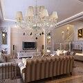 Accesorios de La Lámpara de Araña de Cristal moderno con 12 Luces Para El Hotel Indoor CE FCC ROHS ILUMINACIÓN VALLKIN