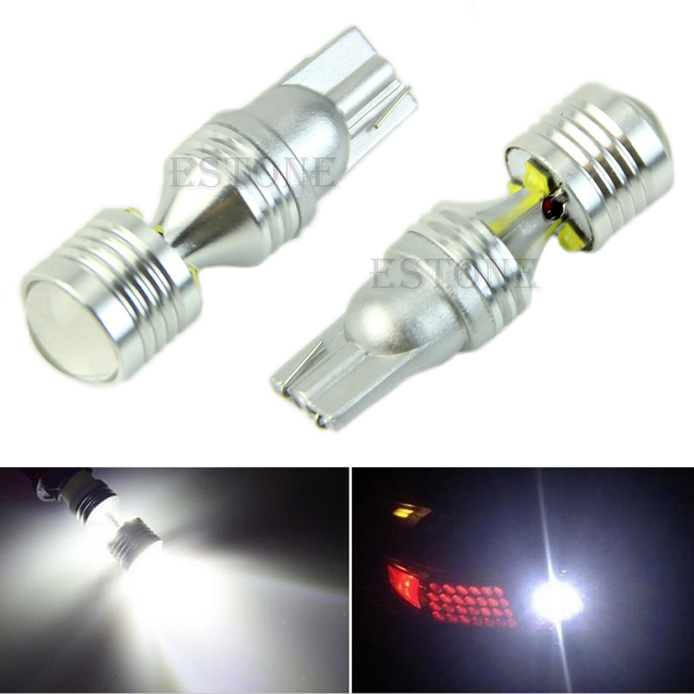 12V High Power 30W T10 LED Bulbs For Car Backup Reverse Lights 912 921 New image