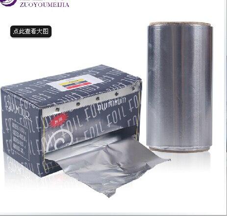 2 PCS/Lot EX-Thicken Aluminum Foil 500X10CM Aluminium Foil Roll for Nail Art Soak Off Acrylic UV Gel Remover Nail Wraps-GEF1054 e cap aluminum 16v 22 2200uf electrolytic capacitors pack for diy project white 9 x 10 pcs