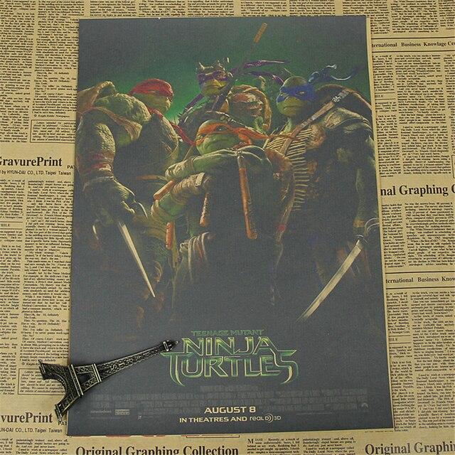 Teenage Mutant Ninja Turtles Leonardo Wandaufkleber Kinderzimmer ...