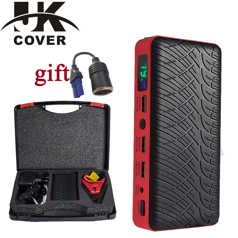 JKCOVER Car-Battery Car-Booster-Start-Device Power-Bank Jump-Starter Auto Portable Emergency