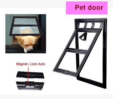 Small Pet Door Anti-mosquito Screen Window Cat Dog Door Cat Crates