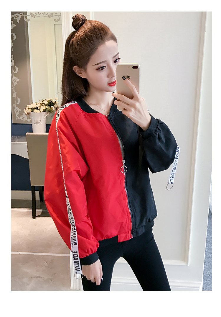 HTB19UzgbMaH3KVjSZFpq6zhKpXa2 Jackets Women 2018 New Women's Basic Jacket Fashion Thin Girl Windbreaker Outwear Bomber Female Baseball Women Men Coat