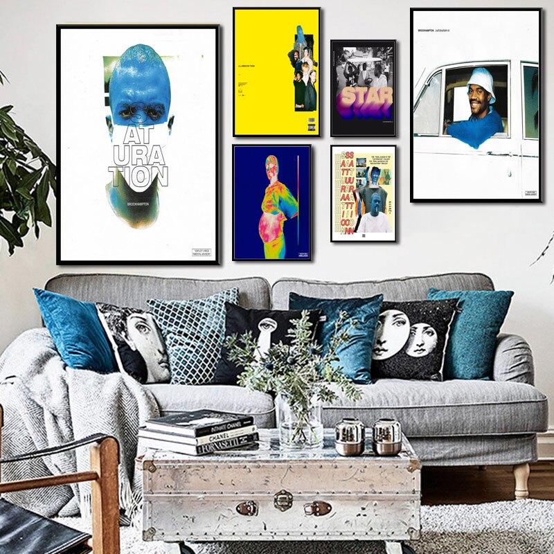 Custom Personalized Rich Brian Amen Silk Poster Wall Decor