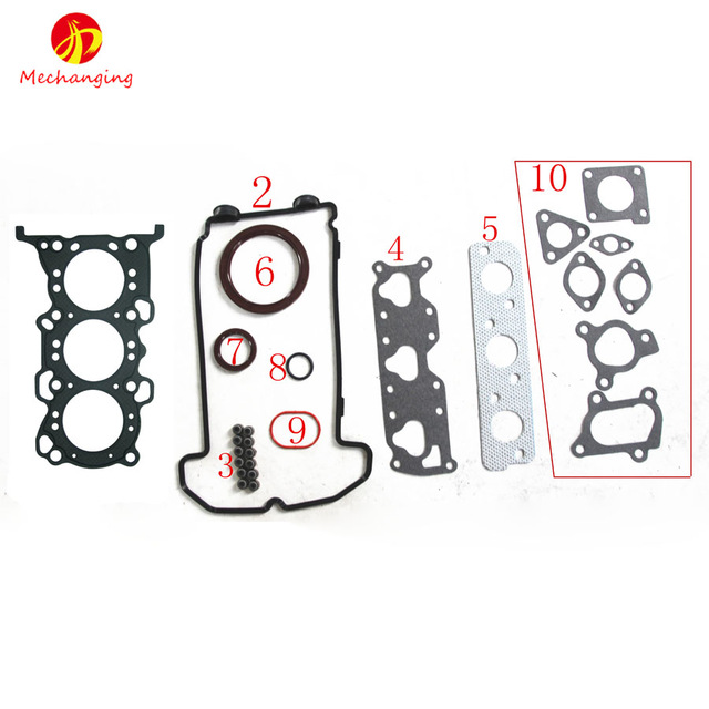 K6A FOR SUZUKI KEI ALTO 0.7 12V and WAGON R+ Engine Parts Engine Rebuild Kits Full Set Engine Gasket 11402-78838 50272200K6A FOR SUZUKI KEI ALTO 0.7 12V and WAGON R+ Engine Parts Engine Rebuild Kits Full Set Engine Gasket 11402-78838 50272200
