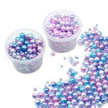 250pcs Gradient Pearl Mix Mermaid Party Wedding deco Birthday Decor Decoration Accessories