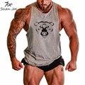 Seven joe. culturismo chaleco del tanque de la marca mens undershirt aptitud de los hombres tank tops singlets culturismo entrenamiento muscular corte