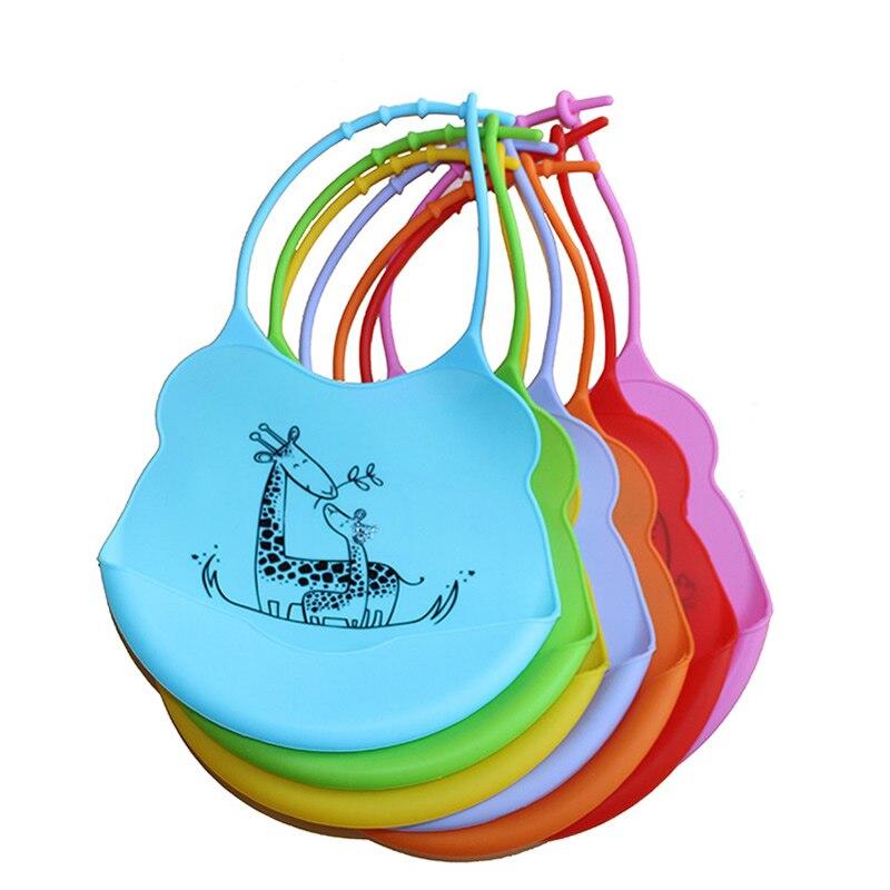 Baberos para bebés Silicona Desechable Impermeable Estéreo para - Ropa de bebé - foto 4