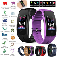 QS100 Smart Band Bracelet Sport Watch Smartband Heart Rate Blood Pressure Monitor Tracker Smart Wristband GPS Fitness Activity