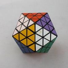 MF8 Oskar's Icosaix II Black Icosahedron Face Turning Cube Puzzle 20 Sided Toy