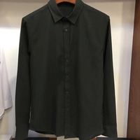 New 2019 Men Fashion Brand Long Sleeve Shirt Men Korean Slim Design Formal Casual Male Dress Shirt fall