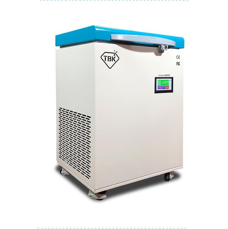 New Professional Mass Freezing Machine 175C LCD Touch Screen Separating Machine Frozen Separator TBK 578