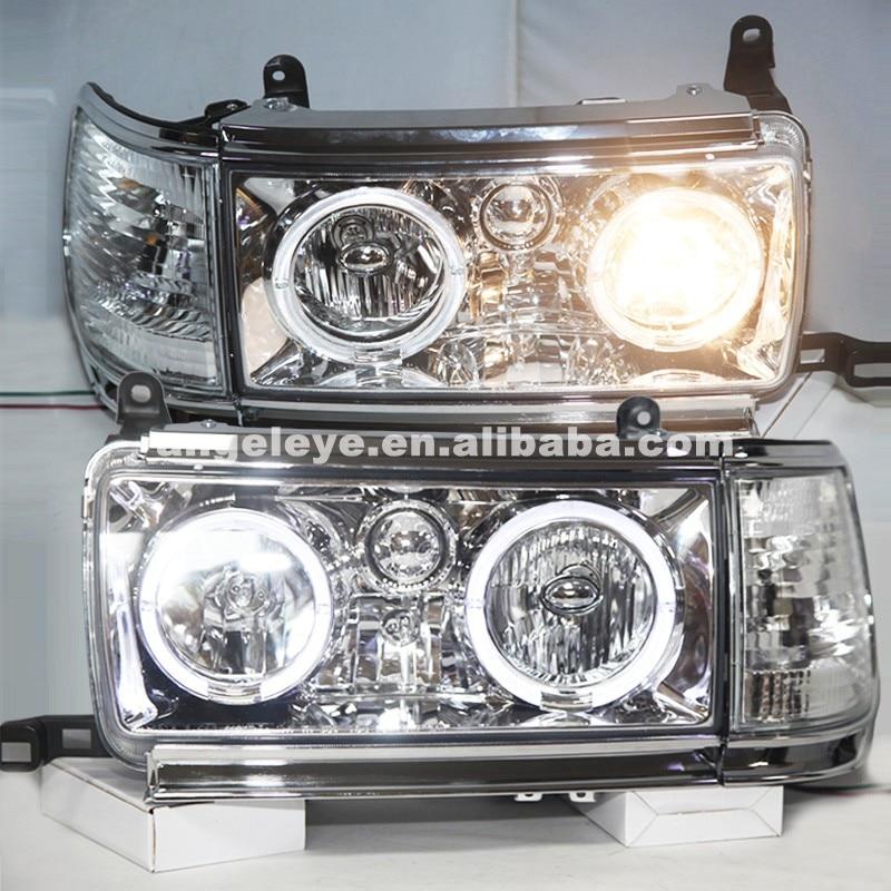 Reflektory dla Toyota Land cruiser LC80 FJ80 Prado 4500 1990