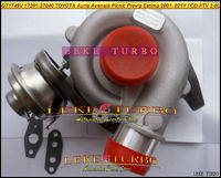 GT1749V 17201 27040 801891 721164 0006 801891 721164 17201 27040 турбина для Toyota RAV4 D4D 2001 Previa 1 CDFTV 1CD FTV 021Y 2.0L