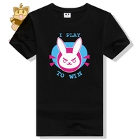 Hot Game Watch Over Character Lovely T Shirt D VA DVA T Shirt High Quality Lovely