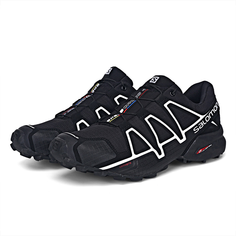 reputable site 16baa 9070c Salomon Men s Speedcross 4 CS Running Trail Shoes   Spare Quicklace Kit  Bundle Trail Jogging Shoes Big Size 40 48-in Running Shoes from Sports ...