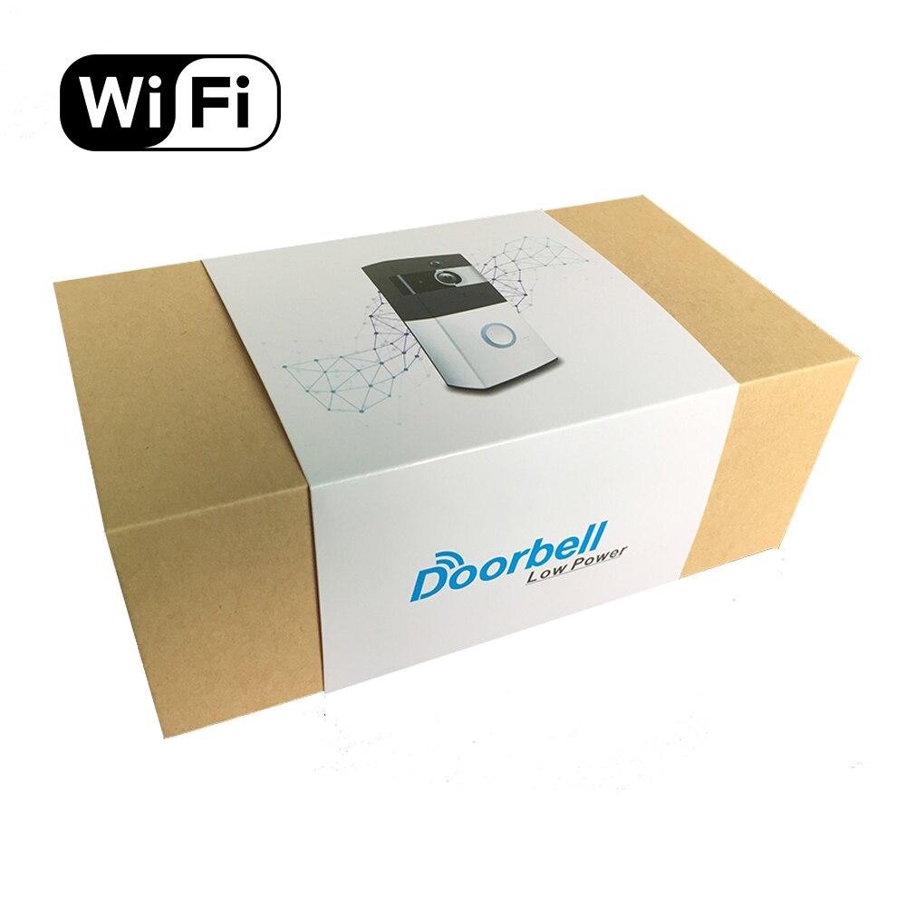 Купить с кэшбэком Video Ring Home Doorbell Waterproof APP Remote 720P Motion Detection WiFi Video Camera Door Phone Intercom