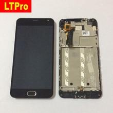 Получить скидку Ltpro 5.0 «ЖК-дисплей Дисплей Сенсорный экран планшета + кнопка домой в сборе с рамкой для Meizu M2 meilan 2 для Meizu M2 Mini Телефон часть