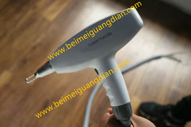 the part of beauty equipment 532+1064 laser tips with nd yag laser handpiece nd yag laser handle ipl laser nd yag handle connection with wholesale price factory