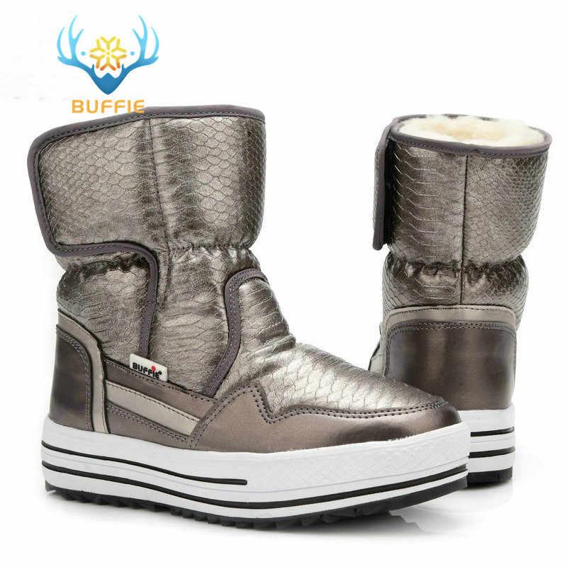 e634201bb102 Подробнее Обратная связь Вопросы о Сапоги, женская обувь, зимняя женская  теплая обувь на меху, непромокаемый верх, большие размеры, модная  нескользящая ...