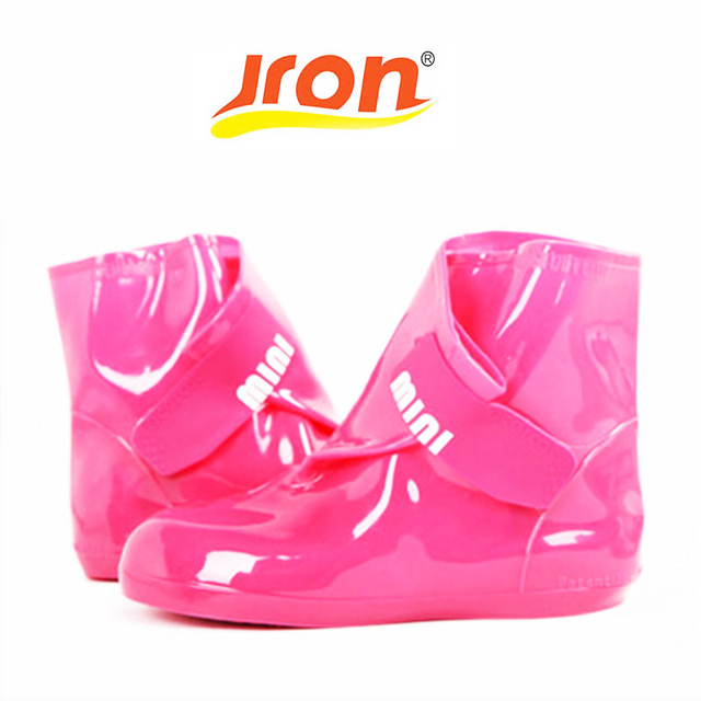 3 цвета, новая модная обувь, женская обувь на резиновой подошве, нескользящая водонепроницаемая обувь для защиты от дождя, высокое качество