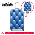Dispalang geometric pattern waterproof protect covers for suitcase brand designer dust rain travel luggage cover for 18-30 inch