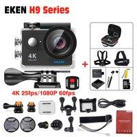 Original EKEN H9/H9R Remoto Ultra hd 4 K Full HD 1080 P Esporte Wi-fi 170D 4 K pro esporte Action Camera 2.0 LCD ir Câmera à prova d' água