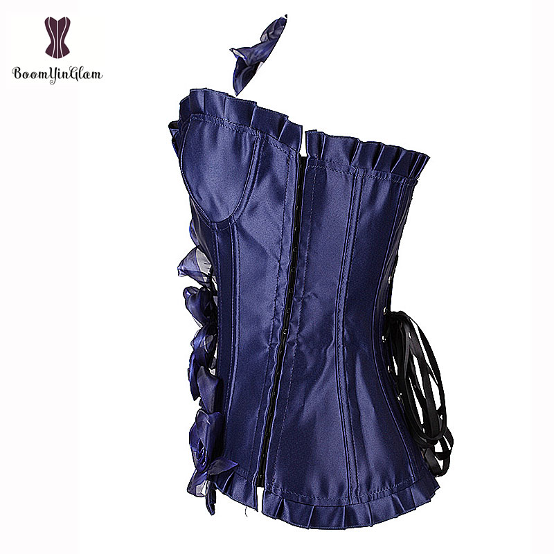 Corset Women Waist Trainer Bodysuit Women Waist Cincher Free Shipping Single Shoulder Strap elegant Black Blue For Party Dress 1