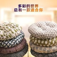 40*40 cm di Spessore Velluto A Coste Elasticizzati Cuscini Per Sedie Per La Cucina Sedia Cuscino del Sedile di Colore Solido Cuscino Pavimento Macchina