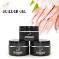MONASI 15 ml UV/LED Gel Nail Polish UV Builder Gel Transparent Clear Nail Art Manicure Tips Glue Long Lasting esmalte para unha