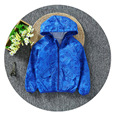 Primavera Otoño Niños Abrigos Chaquetas Deporte Abrigos de Moda de Doble-deck A Prueba de agua A Prueba de Viento Niños Niñas Chaquetas de Marca