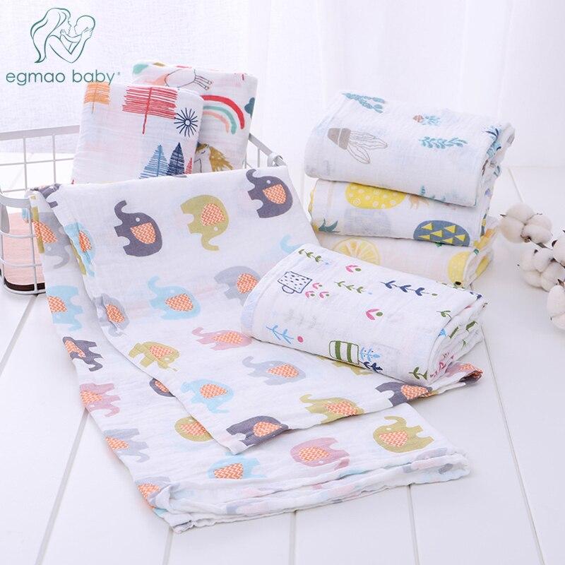 KüHn Musselin Swaddle Decken 3 Pack Baby Decke Für Neugeborene Swaddle Decke, Swaddle Wrap, Musselin Swaddle Und Erhalten Decken