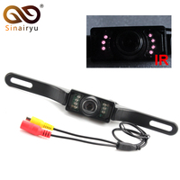 Sinairyu Car DVR Backup CMOS NTSC System Camera Waterproof Reversing Backup IR LED Night Car Rear