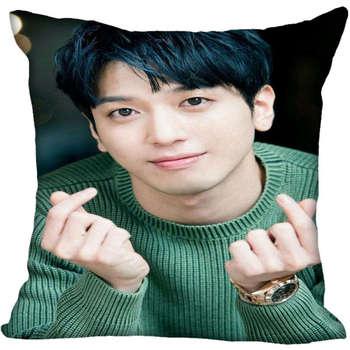Funda de almohada cuadrada personalizada Jung Yong Hwa, funda de almohada suave con cremallera y 1 uds, funda de cojín personalizada, más tamaño