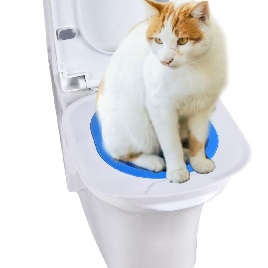 Mat Supply Litter-Tray Cat-Toilet-Trainer Training-Products Pet-Cleaning Dogs Plastic