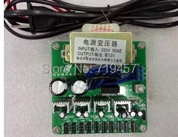 FREE SHIPPING  Linear DC Power Supply Module  +3.3V + 5V + 12V Output Ripple Is Less Than 2.5mV