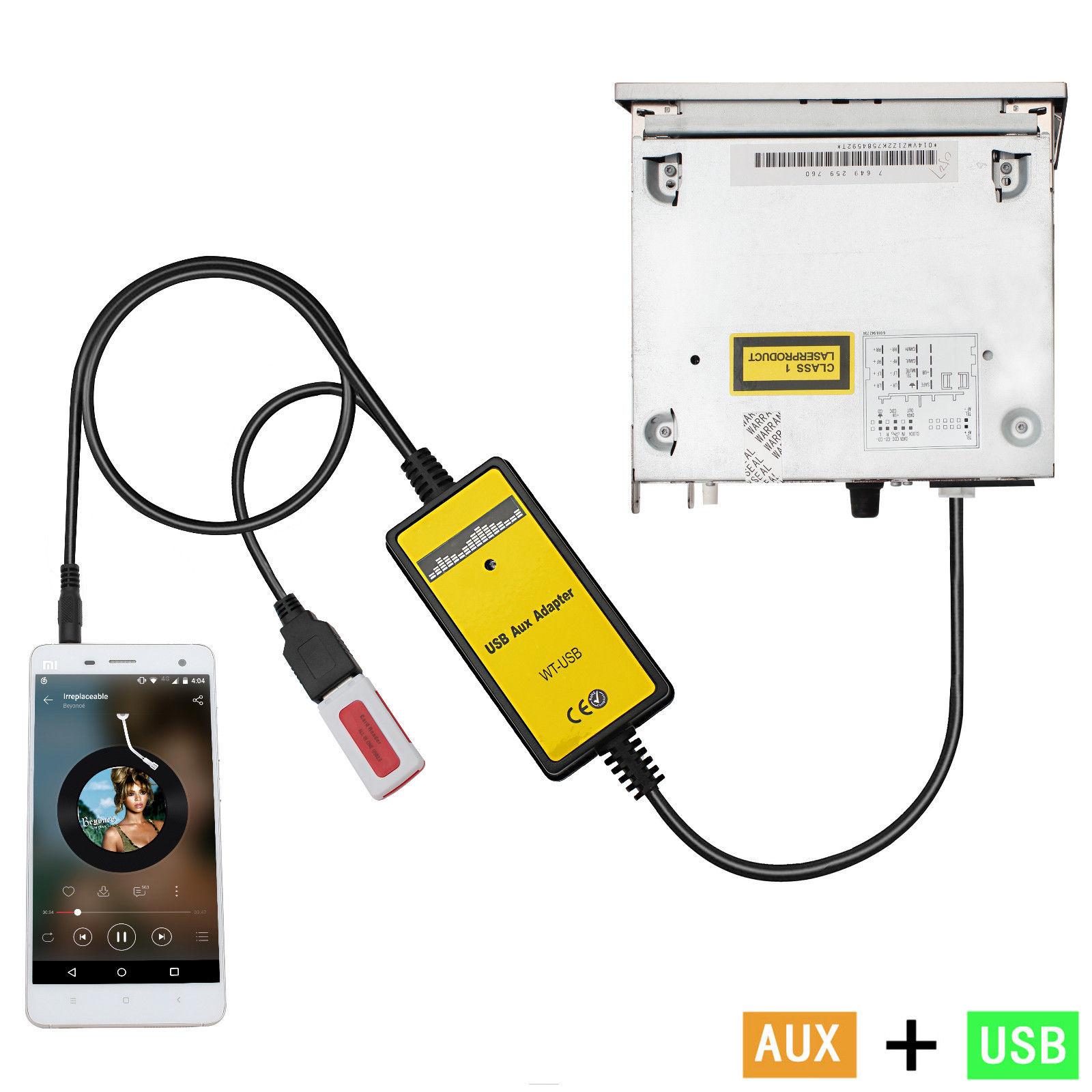 Профессиональный автомобильный интерфейсный адаптер в входной аудио MP3 кабель AUX 12P 1 комплект автомобиля прочный автомобильный интерфейсный адаптер для Audi/Skoda