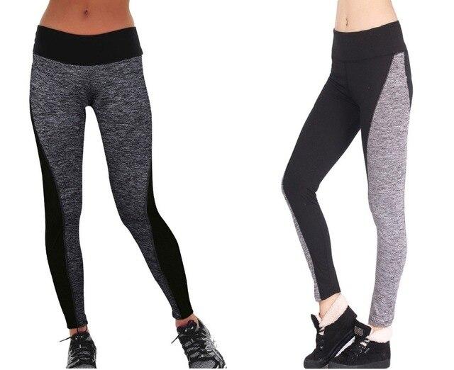 4b85f1885 Venda quente de alta qualidade reversível estilo yoga calça esporte  correndo calças leggings de fitness ginásio