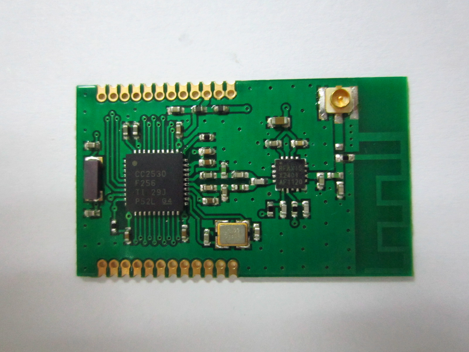 CC2530 Zigbee wireless module CC2530PA module minimum distance from the far harmonic small price freeshipping uart to zigbee wireless module 1 6km cc2530 module with antenna