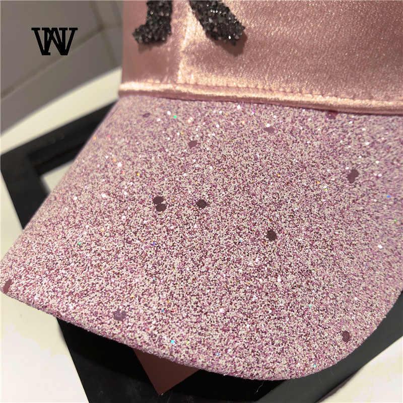 Буквы с сверлом хип-хоп бейсболка s женский рюкзак женский хлопок Регулируемая крышка папа шляпа вышивка Лето кость BQM-CZX62