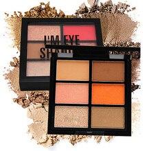 Matte glitter professional eyeshadow palette smokey nude eyes palette matte eye shadow pigment with Applicator