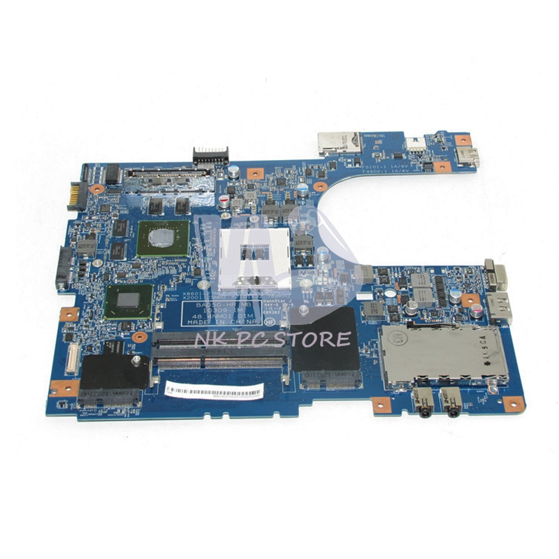 MBV4D01002 MB.V4D01.002 For Acer TravelMate 8573T 6595 Laptop motherboard 48.4NM01.01M HM65 DDR3 with Video card