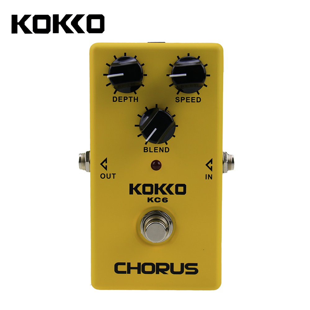 KOKKO Chorus Electric Guitar Effect Pedal Guitarra Stompbox Nice Quint Full bodied 12-String Sounds