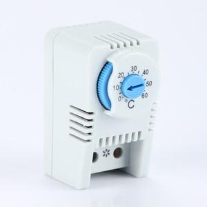 Image 2 - Thermostat régulateur de température interrupteur chauffage au sol connecteur réglable intérieur Thermostat chaud interrupteur thermostat électrique