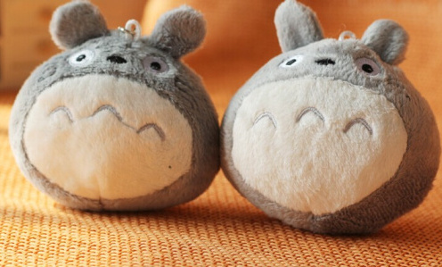 Cute MY Neighbor Totoro 8CM Plush Stuffed Toy Phone Strap Doll Gift Toy Bag Pendant Toy Gift Doll G0110