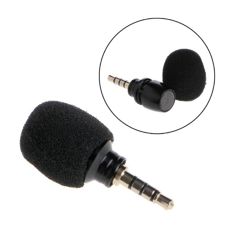 OOTDTY Mini Mic Cellphone Smartphone Portable Mini Omni Directional High Sensitivity Mic Microphone For Recorder For Smartphone