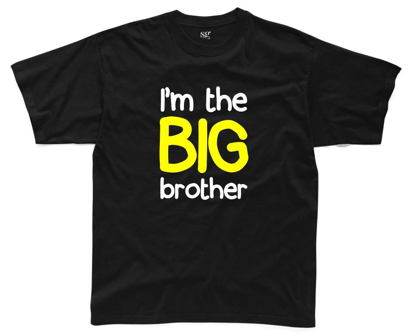 I/'M THE LITTLE BROTHER Mens T-Shirt S-3XL Printed Top Funny Joke