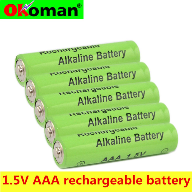 4-40pcs New Brand AAA Battery 2100mah 1.5V Alkaline AAA rechargeable battery for Remote Control Toy light Batery free shipping